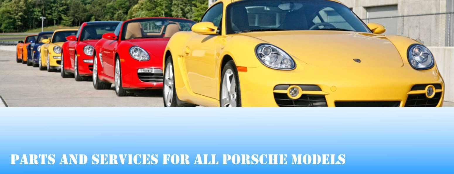 Parts and services for all Porsche models.